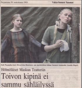 2003 Hölmöläiset